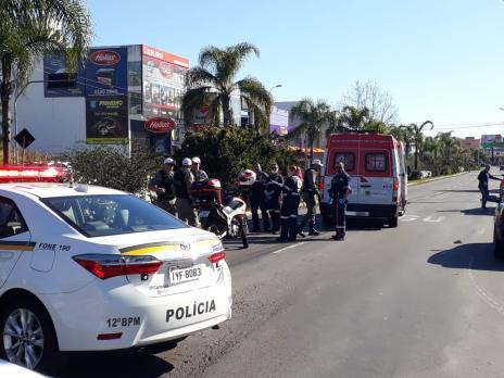 Motociclista morre em acidente na Perimetral Norte, em Caxias (Róger Ruffato  / Agência RBS/Agência RBS)