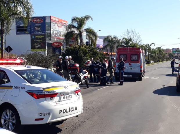 Motociclista morre em acidente na Perimetral Norte, em Caxias Róger Ruffato  / Agência RBS/Agência RBS
