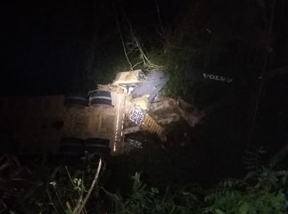 Identificado motorista morto em capotamento na BR-116 entre Campestre da Serra e São Marcos Divulgação / PRF/PRF