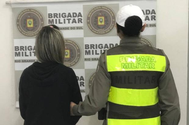 Mulher é presa depois de furtar semi jóias avaliadas em R$ 800 de loja de shopping em Caxias Brigada Militar  / Divulgação /Divulgação