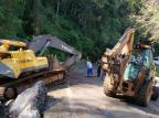 Trânsito é liberado na BR-116 após remoção de escavadeira entre Vacaria e São Marcos Divulgação / Polícia Rodoviária Federal/Polícia Rodoviária Federal