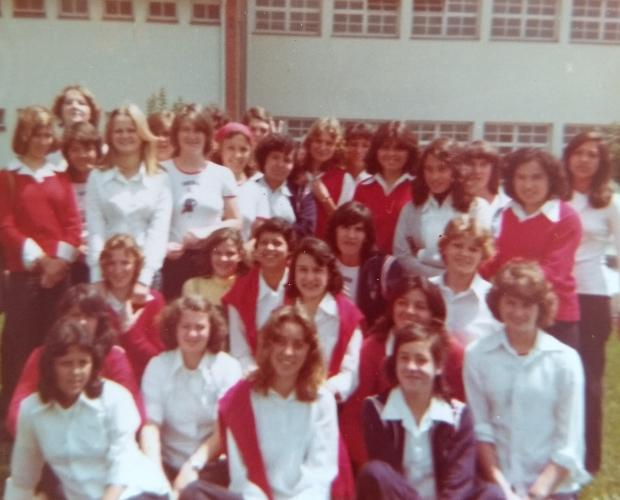 Magistério de 1980 do Cristóvão de Mendoza rumo ao aniversário de 40 anos Acervo pessoal / divulgação/divulgação