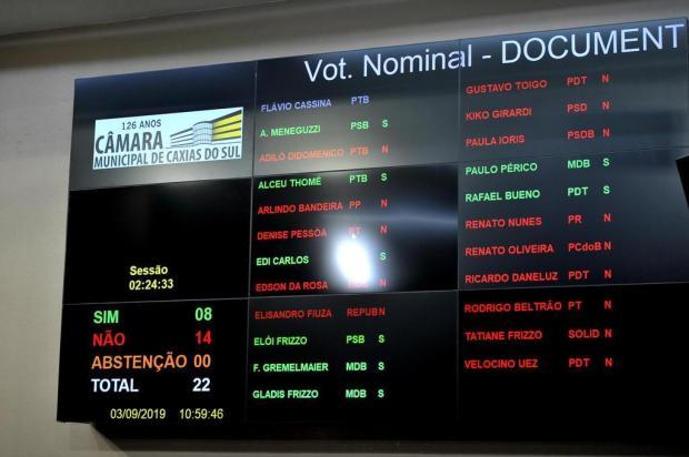 """""""Agressão à democracia"""", afirma Daniel Guerra sobre vereadores que votaram a favor a pedido de impeachment Lucas Amorelli/Agencia RBS"""