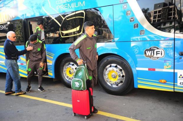 Após longa viagem, grupo do Juventude tem dia de descanso e retoma atividades nesta quarta Porthus Junior/Agencia RBS