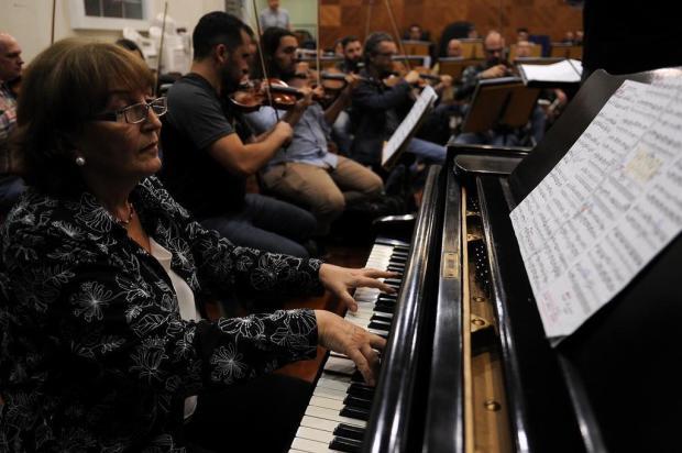Olinda Allessandrini toca Mozart e Chiquina Gonzaga, em concerto da Orquestra da UCS Marcelo Casagrande/Agencia RBS