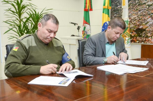 Batalhão de Choque da Serra será instalado no bairro São José, em Caxias do Sul Mateus Argenta / Divulgação/Divulgação