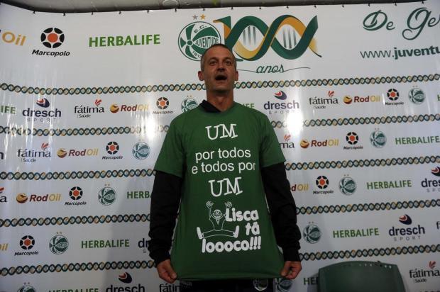 """""""Tenho o Juventude no meu coração"""", diz ex-treinador sobre relação com o torcedor Juan Barbosa/Agencia RBS"""