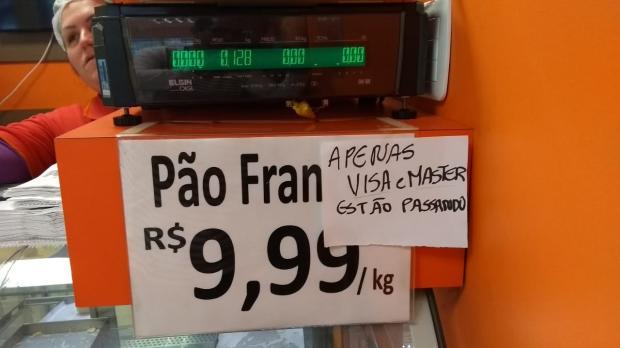 Falta de luz prejudica compras com cartões na área central de Caxias Adriano Duarte  / Agência RBS/Agência RBS