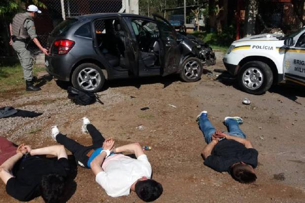 BM faz alerta sobre bandido que fugiu após confronto no interior de Flores da Cunha Brigada Militar / Divulgação/Divulgação