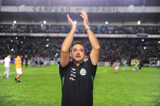 """""""Todos tinham um sonho e hoje conseguimos"""", diz Marquinhos Santos sobre acesso do Juventude Porthus Junior/Agencia RBS"""