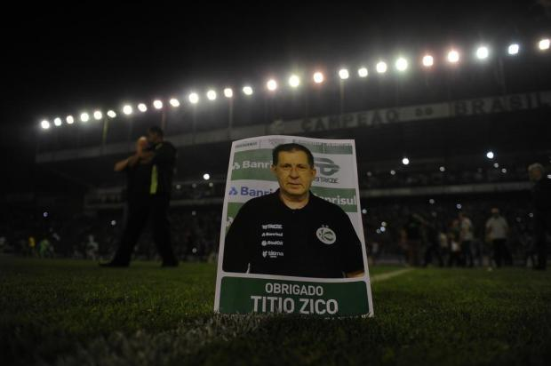 Aprile diz que acesso era promessa para Zico, roupeiro do Juventude que morreu em julho Marcelo Casagrande/Agencia RBS