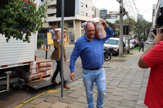 Patrões e empregados unidos pela mesma causa em Caxias Uliane da Rosa/divulgação
