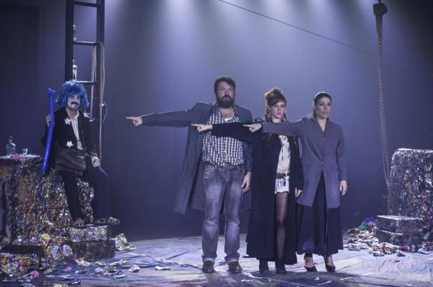 """Espetáculo """"As Quatro Direções do Céu"""" é atração desta sexta-feira no Caxias em Cena Edu Rabin/Divulgação"""