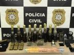 Homem preso com explosivos planejava atentado contra policiais na Serra Polícia Civil/