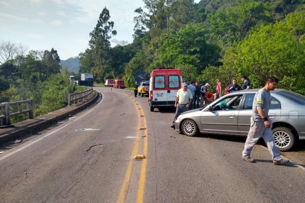 Identificado casal morto em acidente na ERS-446, entre São Vendelino e Carlos Barbosa CRBM/Divulgação