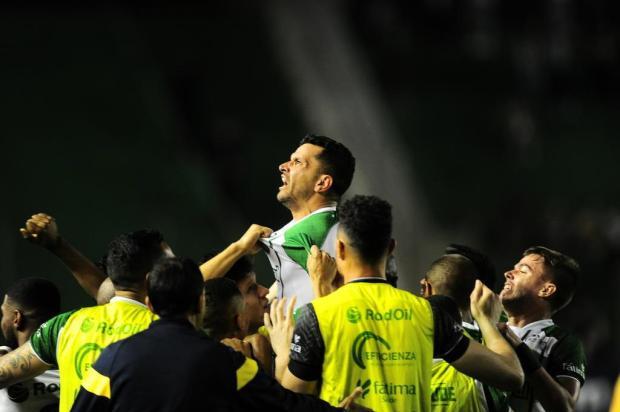 Capitão do Juventude diz que saída do técnico Marquinhos Santos já era esperada Porthus Junior/Agencia RBS