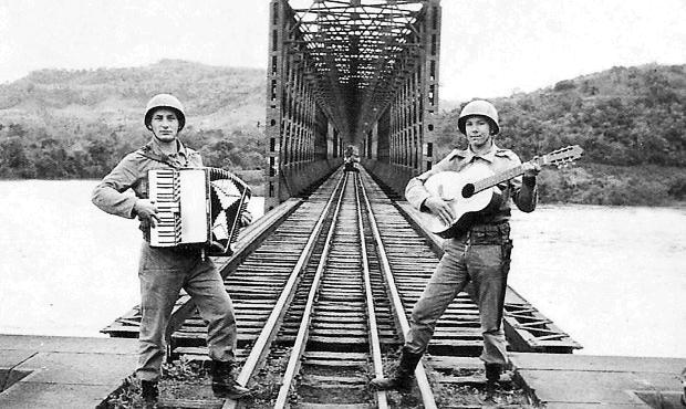 A Legalidade e uma ponte quase derrubada em 1961 Acervo de família / divulgação/divulgação
