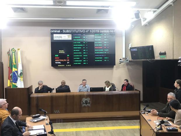 Câmara de Vereadores de Caxias do Sul aprova sua versão do Plano Diretor André Tajes, Agência RBS/