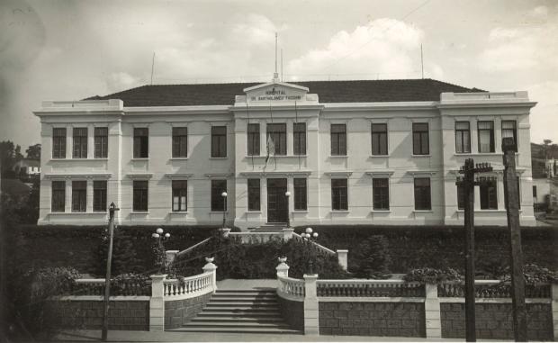 Bartholomeu Tacchini e os 95 anos do hospital Acervo Hospital Tacchini / divulgação/divulgação