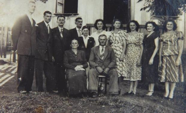 Encontro da família Pasinato em Vila Flores Acervo de família / divulgação/divulgação