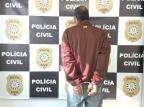Suspeito de três roubos a ônibus, homem é preso em Caxias do Sul Polícia Civil / Divulgação/Divulgação