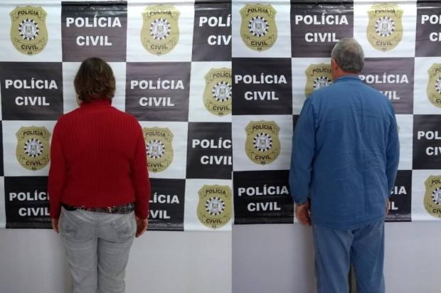 Quatro anos depois, casal suspeito de tentar matar vizinha é preso em Caxias do Sul Polícia Civil / Divulgação/Divulgação
