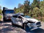 Trânsito é liberado após acidente na RSC-453, entre Farroupilha e Bento Tainára Alba/Agência RBS