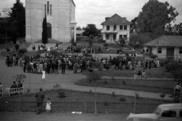 Santa Lúcia do Piaí: a construção da Casa Canônica Acervo de Neli Comunello Cavalli/divulgação