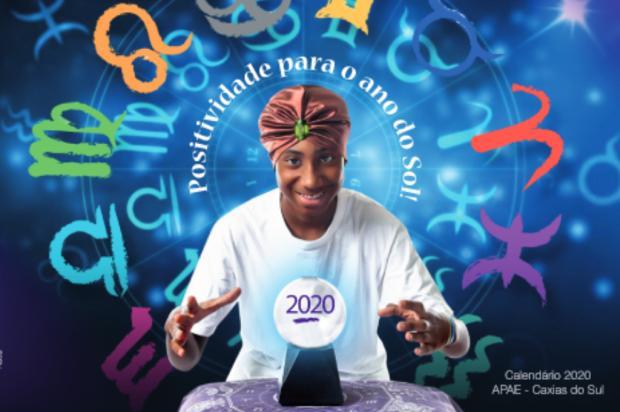 Agenda: calendário da Apae 2020 será lançado nesta sexta-feira, em Caxias Estevam Concatto / Divulgação/Divulgação