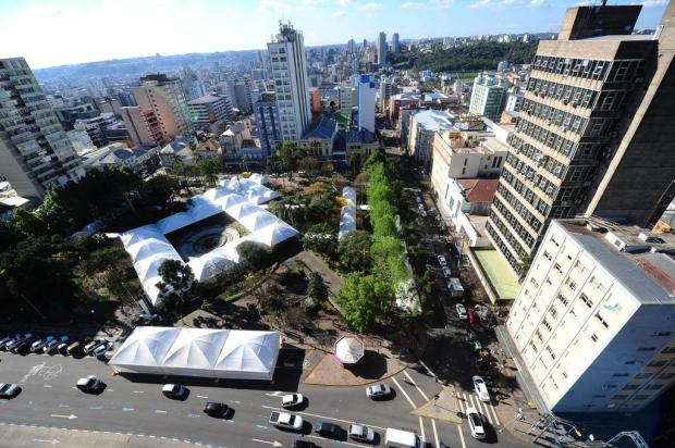 Centro de Caxias do Sul vira o reduto dos leitores Porthus Junior/Agencia RBS