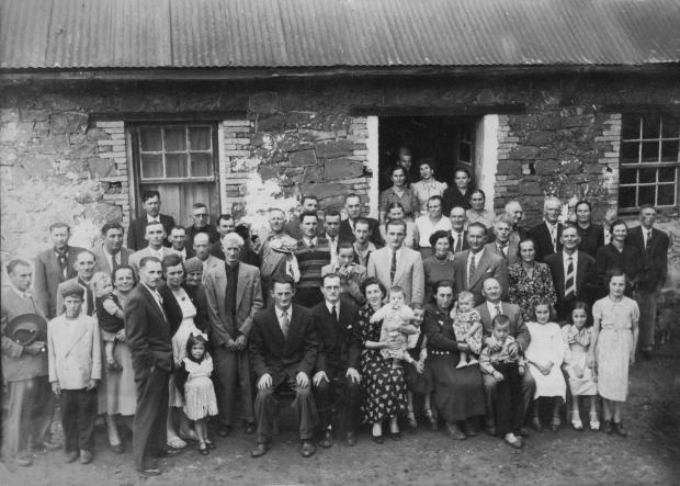 Imigração italiana: encontro da família Sirena Sisto Muner / Acervo de família, divulgação/Acervo de família, divulgação