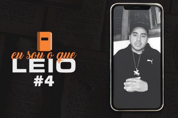 Rapper Chiquinho Divilas conta qual foi a obra que marcou sua vida em especial da Feira do Livro de Caxias Reprodução/Reprodução