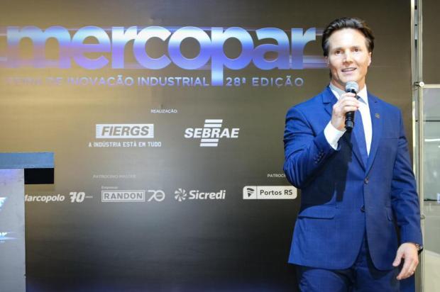 Prefeito de Caxias do Sul reaparece na abertura da Mercopar Daniel Bianchi/Divulgação