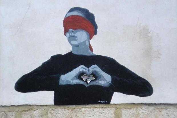 Exposição no Instituto SAMba traz olhar sobre a arte urbana de Paris Arte de Alexandre Frigeri/Divulgação