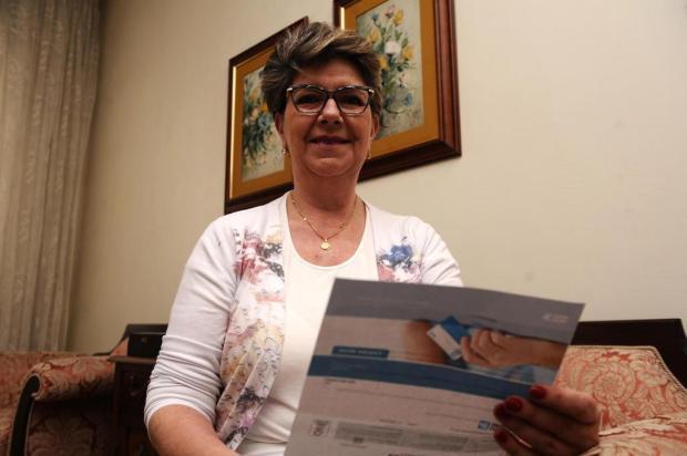 """Nunca precisei, até o dia que precisei"", diz aposentada de Caxias que recorreu ao seguro após 14 anos pagando Antonio Valiente/Agencia RBS"
