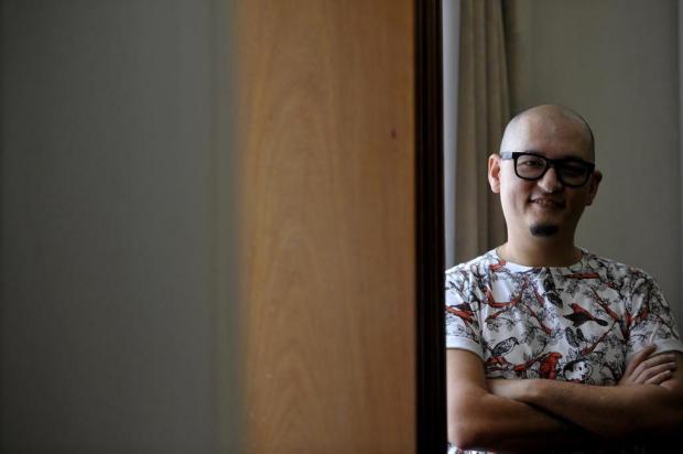 """""""Dá para ser criativo em qualquer empresa"""", diz designer-chefe da Mauricio de Sousa Produções Lucas Amorelli/Agencia RBS"""