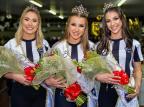 Neire Damin é a nova rainha do Botafogo de Santa Lúcia do Piaí Kleber Mauricio/divulgação