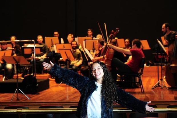 Agenda: Orquestra da UCS e Luiza Barbosa, do The Voice Kids, fazem concerto especial nesta quinta em Caxias Porthus Junior/Agencia RBS