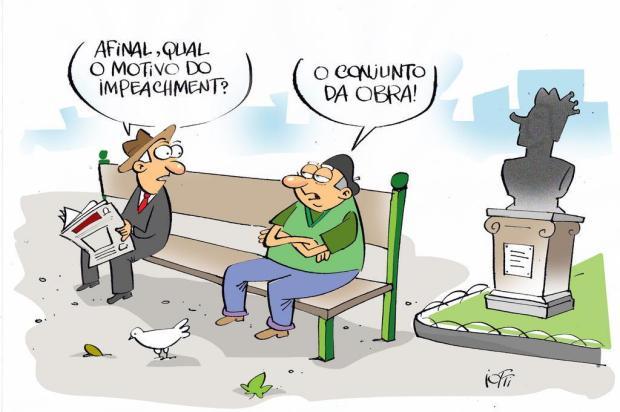 Iotti: confira a charge desta quinta-feira (10) Iotti/Iotti