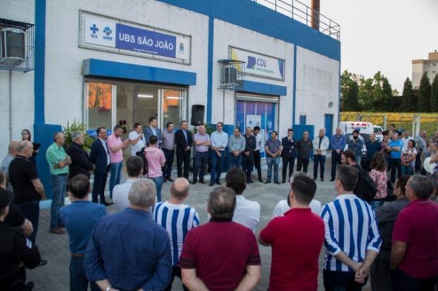 UBS é inaugurada no Complexo Esportivo Montanha dos Vinhedos, em Bento Gonçalves José Martim Estefenon / Divulgação/Divulgação