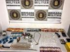 Durante prisão de jovem por tráfico, Brigada prende motorista de aplicativo suspeito de fazer telentrega de drogas em Caxias Brigada Militar/Divulgação