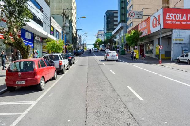 Rua Marechal Floriano, em Caxias, terá novas restrições e linhas de ônibus serão desviadas Leonardo Portella / SMTTM/SMTTM
