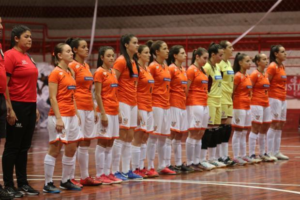ACBF começa a decisão da Liga Gaúcha Feminina de Futsal Renato Padilha / ACBF, divulgação/ACBF, divulgação