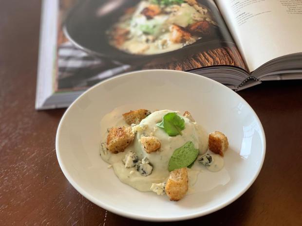 Na Cozinha: mousse de agrião com gorgonzola fácil de fazer Destemperados / divulgação/divulgação