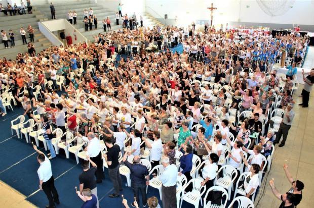 Encontro reúne mais de 800 zeladores e zeladoras de capelinhas em Caxias do Sul Felipe Padilha/Divulgação