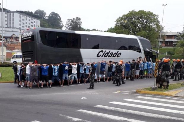 Intervalo: Até quando confusões envolvendo torcidas do Grêmio vão se repetir em Caxias do Sul? Marcelo Rocha/Agência RBS