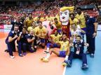 Fernando Cachopa conquista Copa do Mundo com seleção brasileira Divulgação FIVB/