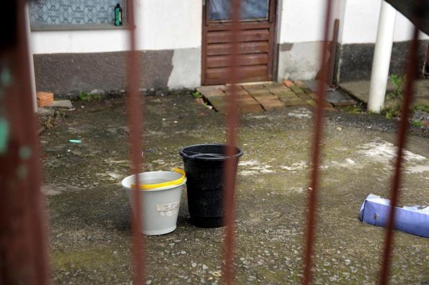 Moradores reclamam de falta de água no Loteamento Jardim Esmeralda em Caxias Lucas Amorelli/Agencia RBS