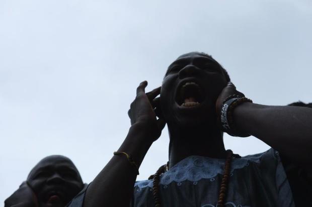 Comunidade senegalesa organiza celebração Gand Magal de Touba em Caxias Lucas Amorelli/Agencia RBS