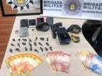 Operação contra o tráfico de drogas termina em três presos em Bento Gonçalves Brigada Militar / Divulgação/Divulgação